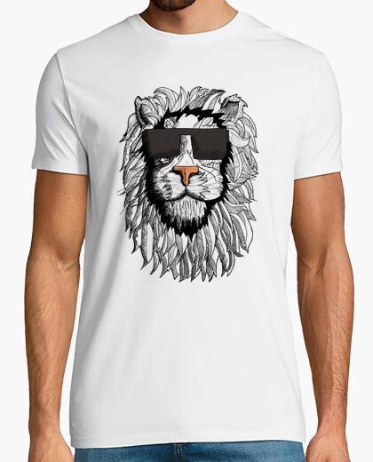 Hombre león camiseta