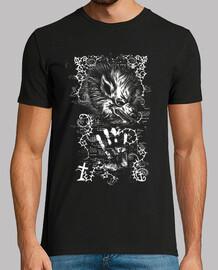 Hombre lobo gótico camiseta heavy metal