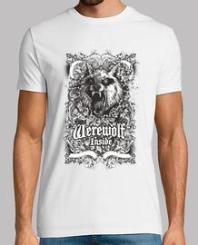Hombre lobo interno - werewolf Inside ideal para halloween y ver peliculas de terror