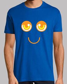 Hombre, manga corta, amarillo limón, calidad extra