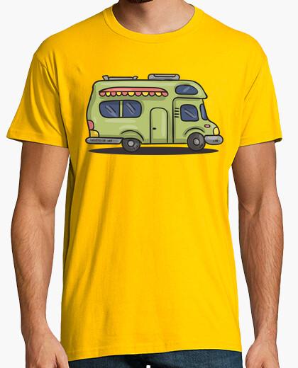 Camiseta Hombre, manga corta, amarillo mostaza, calidad extra