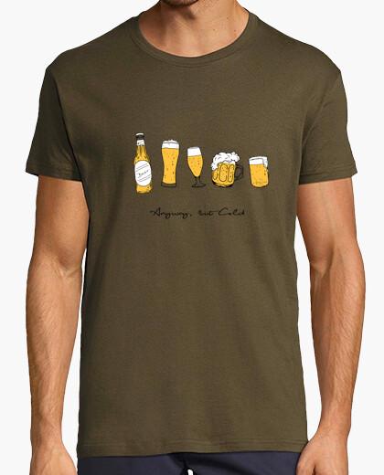 Camiseta Hombre, manga corta, army, calidad extra