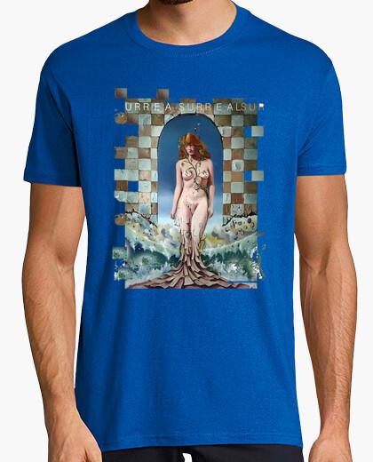 Camiseta Hombre, manga corta, azul royal, calidad extra