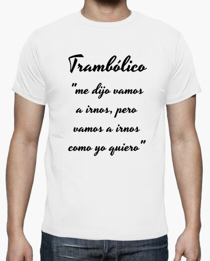 Men's shirt trambolico