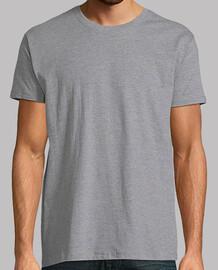 Hombre, manga corta, gris vigoré, calidad extra