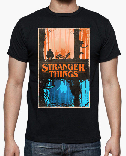 Camiseta Stranger Things Reverse