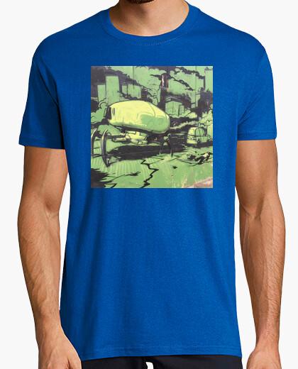 Camiseta Hombre, manga corta, pistacho, calidad extra