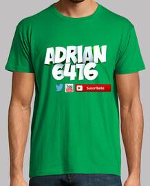Hombre, manga corta, verde pradera, Camiseta Oficial