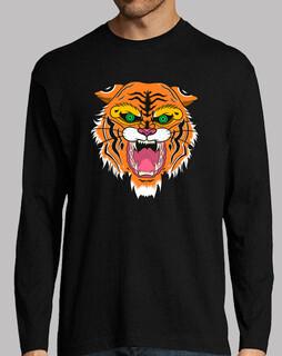 hombre, manga lang, tiger