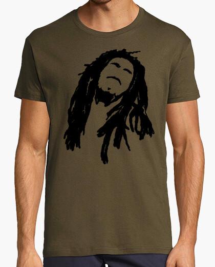 Camiseta hombre rasta