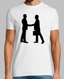 hombres de negocios dar la mano