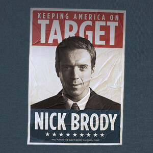 Camisetas HOMELAND nick brody