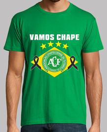 Homenaje al equipo de la  Chapecoense