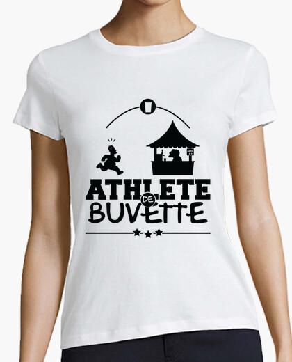 Tee-shirt homer bière athlète