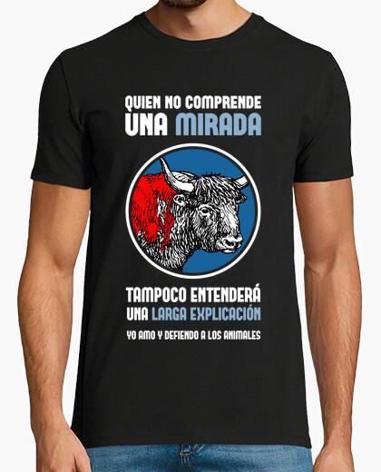 Tee-shirt homme antitaurino (fond noir)
