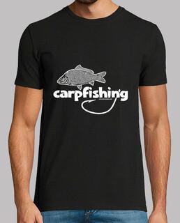 homme de pêche à la carpe