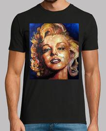 homme, marilyn monroe t-shirt