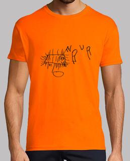 homme orange bactérie