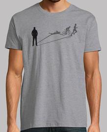 homme triathlon ombre