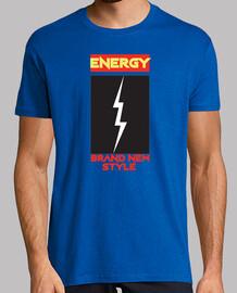 hommes d'énergie t- shirt