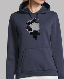Hooded girl minecraft