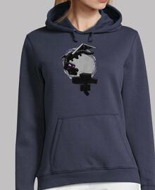 Hooded girl minecraft