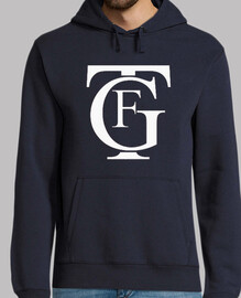 hooded sweater big failure navy