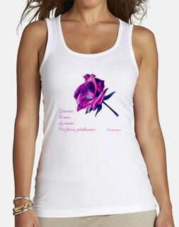 Hooponopono palabras sanadoras. Camiseta de  mujer