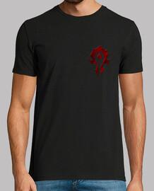 Horda logo Pecho y espalda