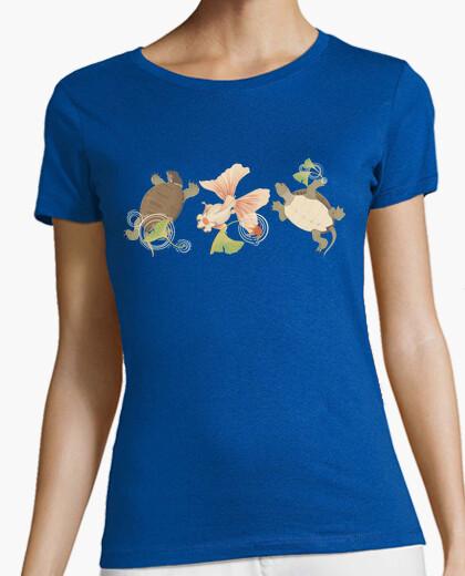 Camiseta horizontal agua giapponesismi