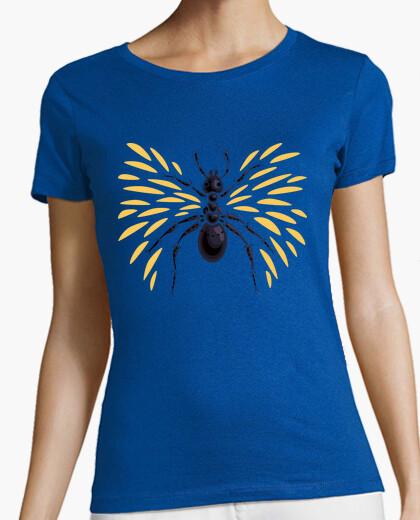 Camiseta hormiga con alas abstracta fresca