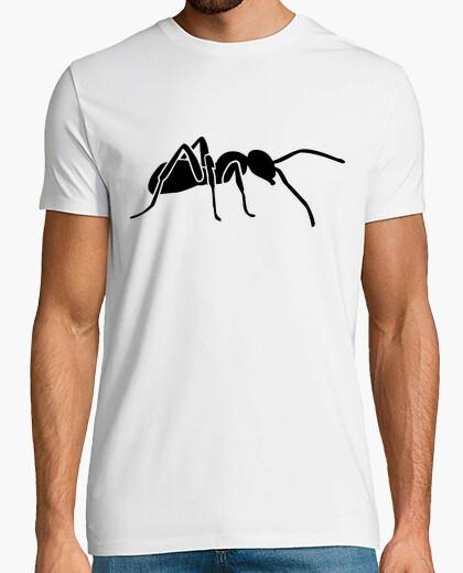 Camiseta hormiga negro