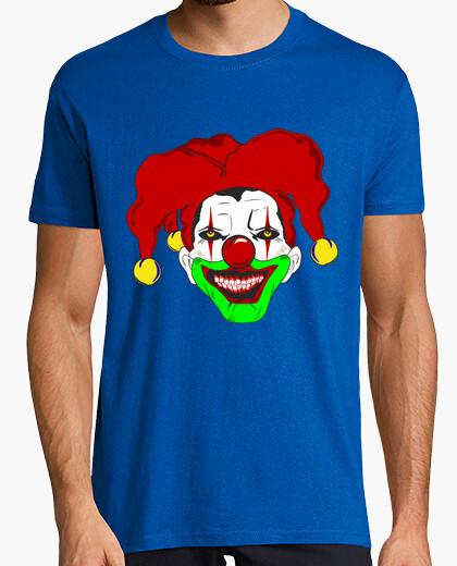 2378930848 T-shirt Horror clown with hat jolly. - 1080197 | Tostadora.it