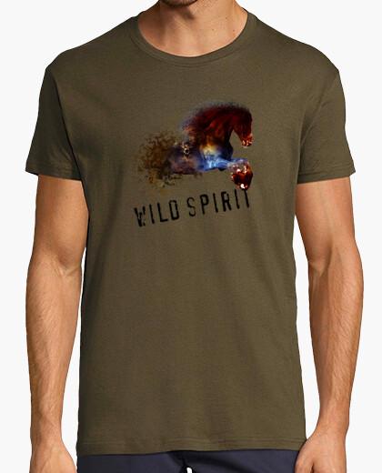 Camiseta horse aquarelle