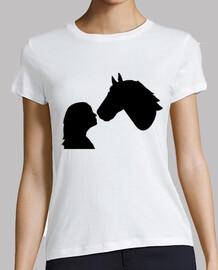 horse girl woman