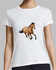horse vector run