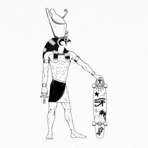 Tee-shirts Horus recargado