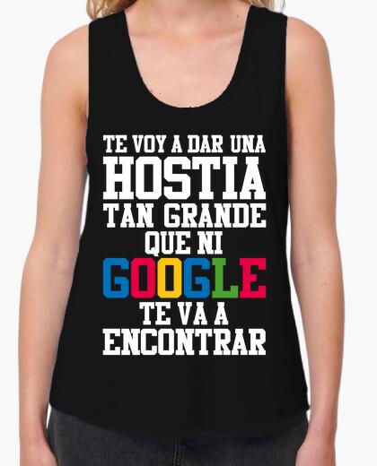 Camiseta HOSTIA - Tirantes