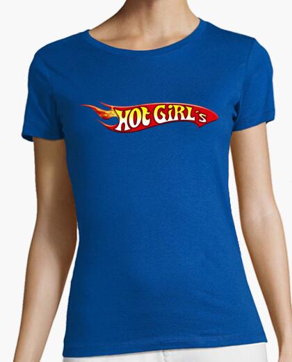 Camiseta Hot Girl's (Logo Hot Wheels)