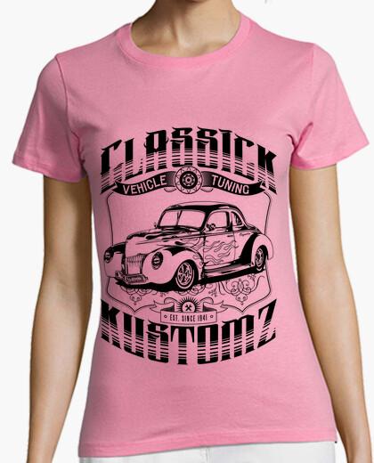 Camiseta Hot Rod - Classick Kustomz (black)