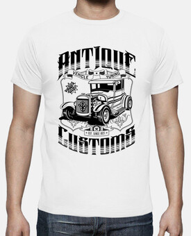 Hot Rod - Antique Customs (negro)