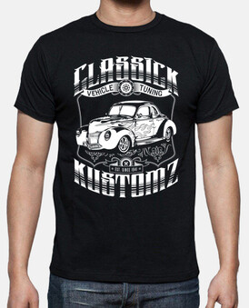 hot rod - classick kustomz (bianco)
