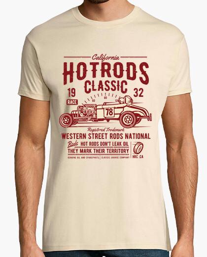 Tee-shirt hot rods classique