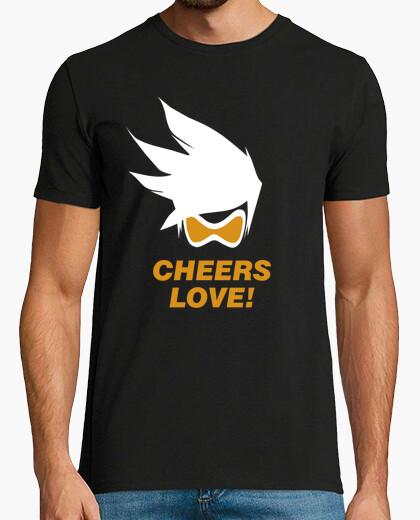 Tee-shirt hourras amour!