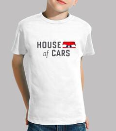 House of cars - Niño, manga corta