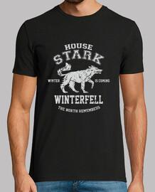 HOUSE STARK chico negra