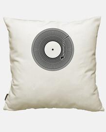 Housse de coussin coton, blanc