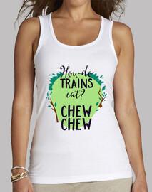 How Do Trains Eat? Chew Chew