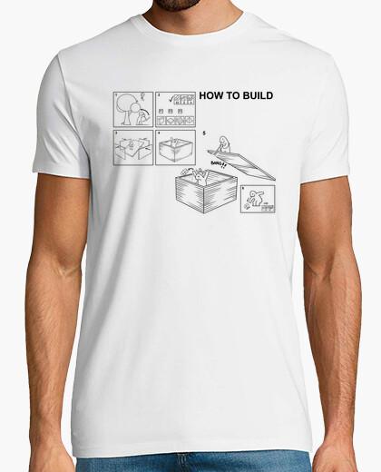 Camiseta How to build