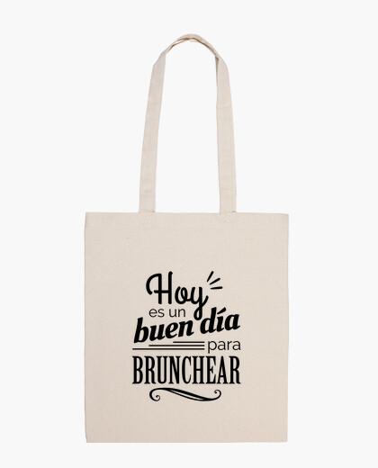 Bolsa Hoy es un buen día para brunchear BW